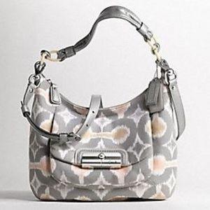 Coach Bags - Coach Kristin Op Art Hobo Crossbody Bag
